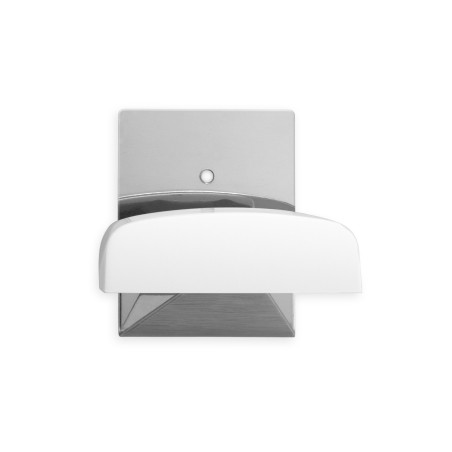 Colgador Hogar 52X40X35Mm Adhesivo Inox Blanco 2045-2+ Inofix