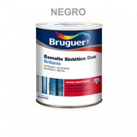 Esmalte Sintetico  Brillante  750 Ml Negro Interior/Exterior  Madera/Metal Bruguer Dux