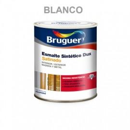 Esmalte Sintetico  Satinado 750 Ml Blanco  Interior/Exterior  Bruguer Dux