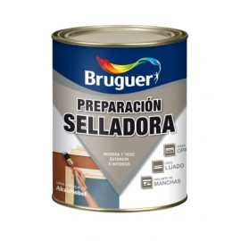 Pintura Preparacion Madera 250 Ml Blanco Superficies Porosas