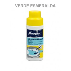 Tinte Concentrado Al Agua 50 Ml Ver/Esm Emultin Bruguer