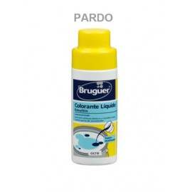 Tinte Concentrado Al Agua 50 Ml Pardo Emultin Bruguer