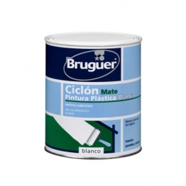 Pintura Plastica Mate 750 Ml Blanco Interior Ciclon Bruguer