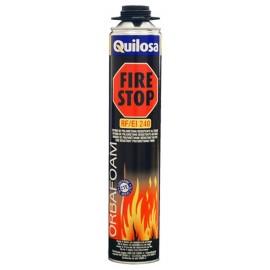 Espuma Poliuretano  Pistola 750 Ml Resistente Fuego Orbaf.Fire Stop Quilosa