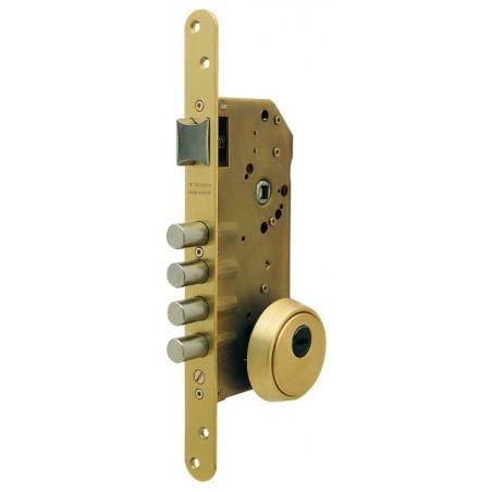 Cerradura Seguridad Madera Embutir 50Mm R200B566N Niquel 1Punto Tesa