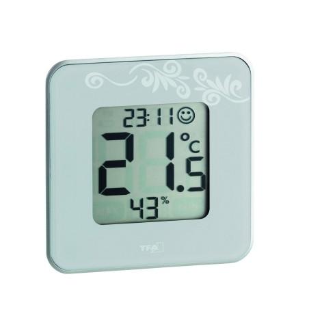 Termometro Medicion Temperatura Tfa Bl Comfort Termo+Higrom 30,5021,02