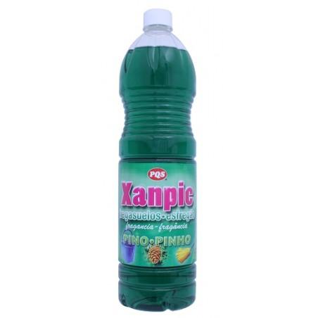 Fregasuelos Limpieza  Liquido  Xanpic Pino Pqs 1,5 Lt