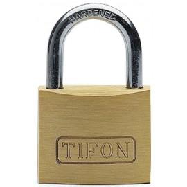 Candado Seguridad  15Mm Arco Corto Laton TifonIfam