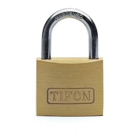 Candado Seguridad  20Mm Arco Corto Laton Tifon  Ifam