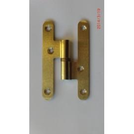Pernio Carpinteria 100X58Mm Azpiri Laton  Derecha 355-100