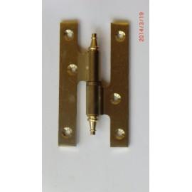 Pernio Carpinteria 100X55Mm Azpiri Laton  Derecha 304-100