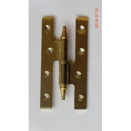 Pernio Carpinteria 120X60Mm Azpiri Laton Derecha 304-120-Dcha