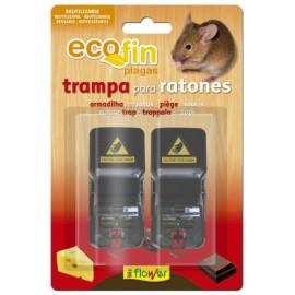 Trampa Ratones Mecanica Ecofin 1-70552 2 Pz