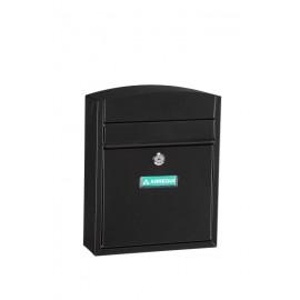Buzon Exterior Arregui Acero Negro Compact E5734