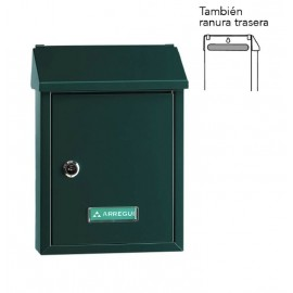 Buzon Exterior Arregui Acero Verde Smart E5723