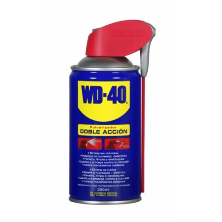 Aceite Lubricante Multiusos Doble Accion Spray Wd-40 250 Ml