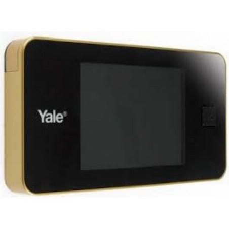 Mirilla Puerta 128X68X15Mm Digital Yale Dorado