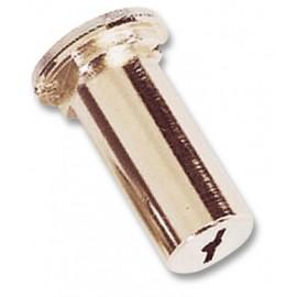 Cilindro 50Mm 20 Dor Pompa Seguridad Cerraduras Cromo