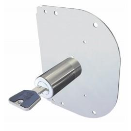 Cilindro Seguridad  50Mm 28K55A Cromo Sobrep Cerraduras Cr Cr