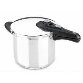 Olla Cocina Presion 06Lt Super Rapida Inox Vitesse Bra