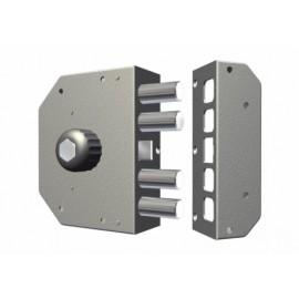 Cerradura Seguridad Sobreponer  130X164X32Mm 3050Cri Cromo Entrada 60 IzquierdaCr