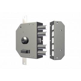 Cerradura Seguridad Sobreponer  130X164X32Mm 3450Cri Cromo Entrada 60 Izquierda Cr