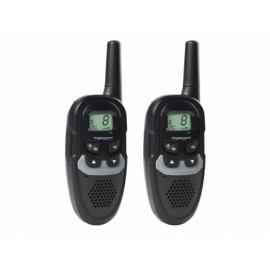 Walkie Talkie Vigilancia  8C 6Km Alc Twinwalker Duo Topcom