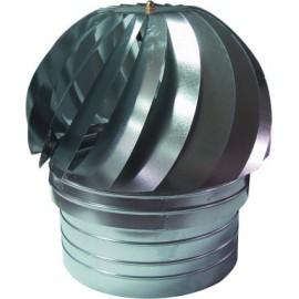 Sombrerete Tubo Estufa Extractor 150Mm Ac Galv Exojo
