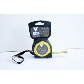 Flexometro Medicion  Doble Freno 05Mt-19,0Mm Bimaterial Nivel