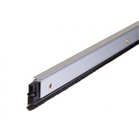 Burlete Bajo Puerta 092Cm Tornillos Cepillo Aluminio Oro Almalock-2 Alma