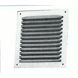 Rejilla Ventana Plana 170X170Mm Aluminio Esmaltado