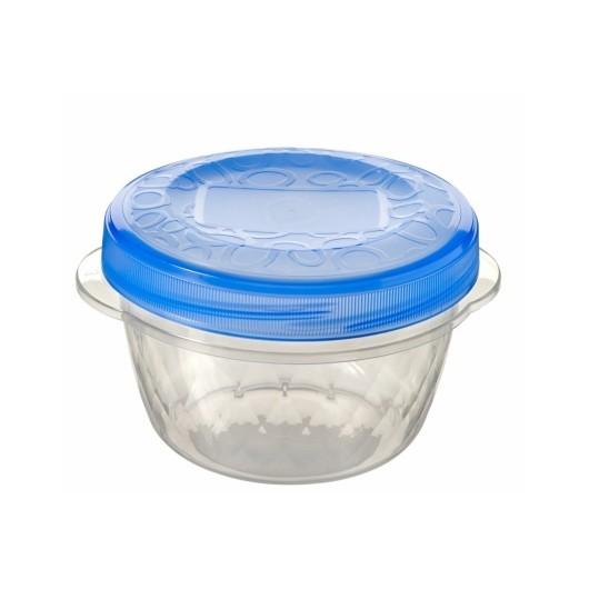 Hermetico Alimentos Redondo 0,5Lt Con Rosca Take Away Tra Plastico Curver 3 Pz