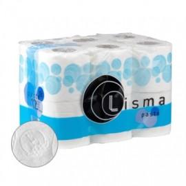 Papel Higienico 18Mt Doble Capa Lisma 12 Pz
