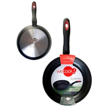 Sarten 30Cm Antiadherente Teflon Induccion Alu.Forj Ecostone Cookware