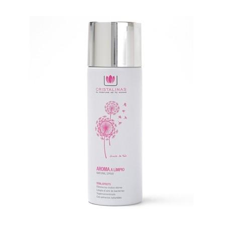 Ambientador Hogar Aroma A Limpio 200 Ml Natural Spray Cristali