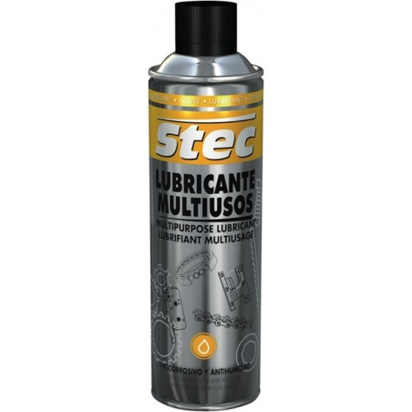 Aceite Lubricante Multiusos Spray Stec 500 Ml