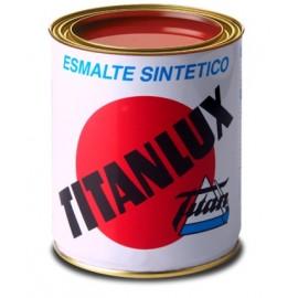 Esmalte Sintetico  Brillante  4 Lt Azul/Luminoso Interior/Exterior  Titan Titanlux