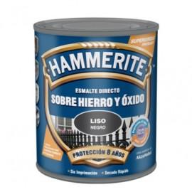 Esmalte Antioxidante Brillante  2,5 Lt Negro  Exterior Hammerite