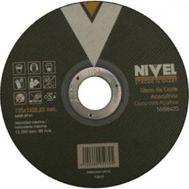 Disco Corte Inox 125X1X22 Mm Nivel