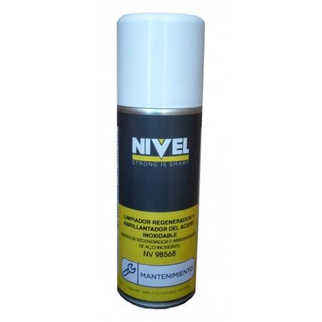 Limpiador Acero Inox Regenerador Abrillantador Nivel 400 Ml