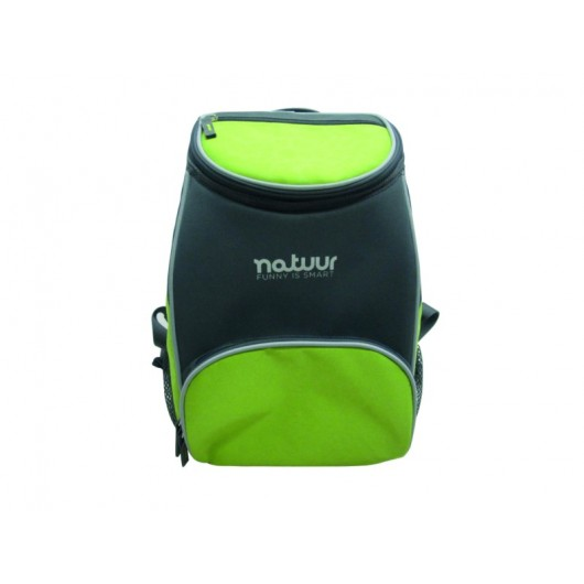Nevera Camping  12Lt Flexible Natuur Verde/Gris