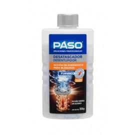 Desatascador Tuberias Quimico  Microperlas Turbo Paso 350 Gr
