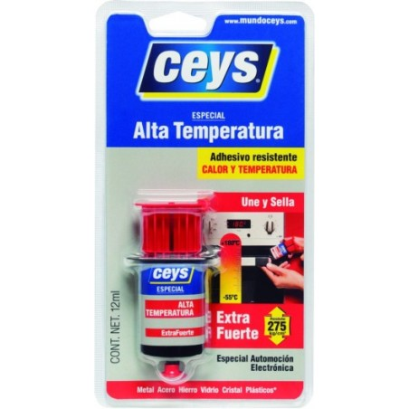 Adhesivo Contacto Altas Temperaturas 12 Ml Extra Fuerte Ceys
