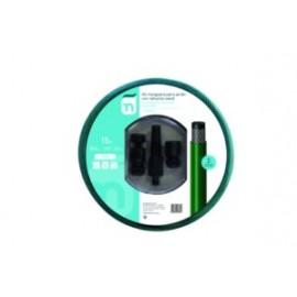 Manguera Riego 15Mt-15 3C Natuur Verde Trenzada Accesorios