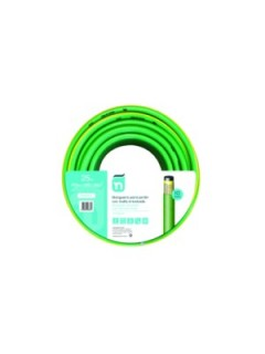 Manguera Riego 25Mt-15Mm 4C  Verde Perfect Tricotada