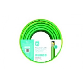 Manguera Riego 50Mt-15Mm 4C  Verde Perfect Tricotada