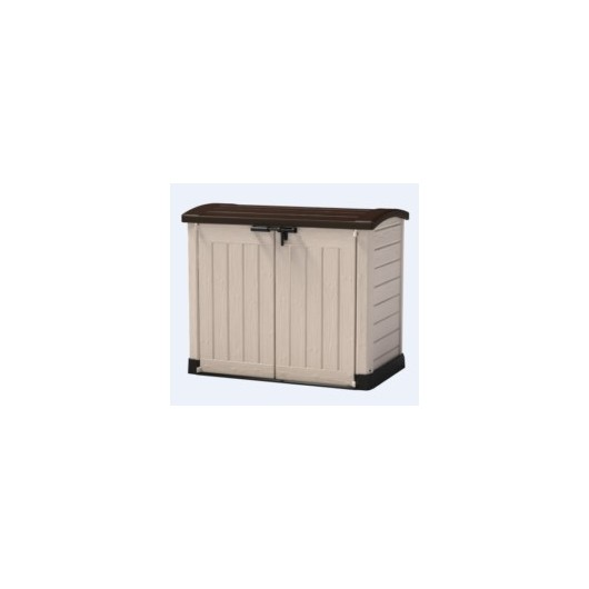 Arcon Jardin 1200 Lt-146X82X120Cm Doble Puerta Keter Res Ma/Be