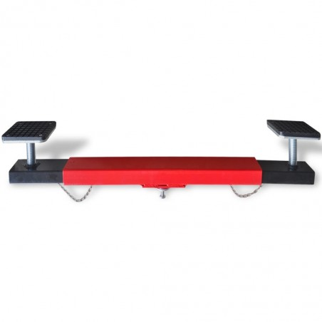 Adaptador de Viga Transversal de 2 toneladas rojo