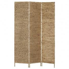 Biombo divisor 3 paneles jacinto de agua 116x160 cm