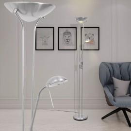 Lámpara de pie con LED regulable 23 W
